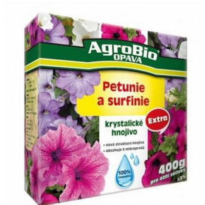 Kryštalické hnojivo pre petúnie a surfínie - Agro - 400 gr