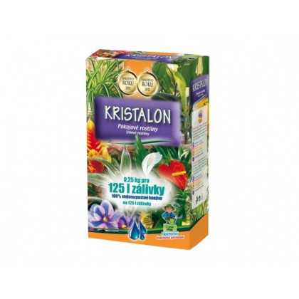 Hnojivo Kristalon pre izbové rastliny - 0,25 Kg
