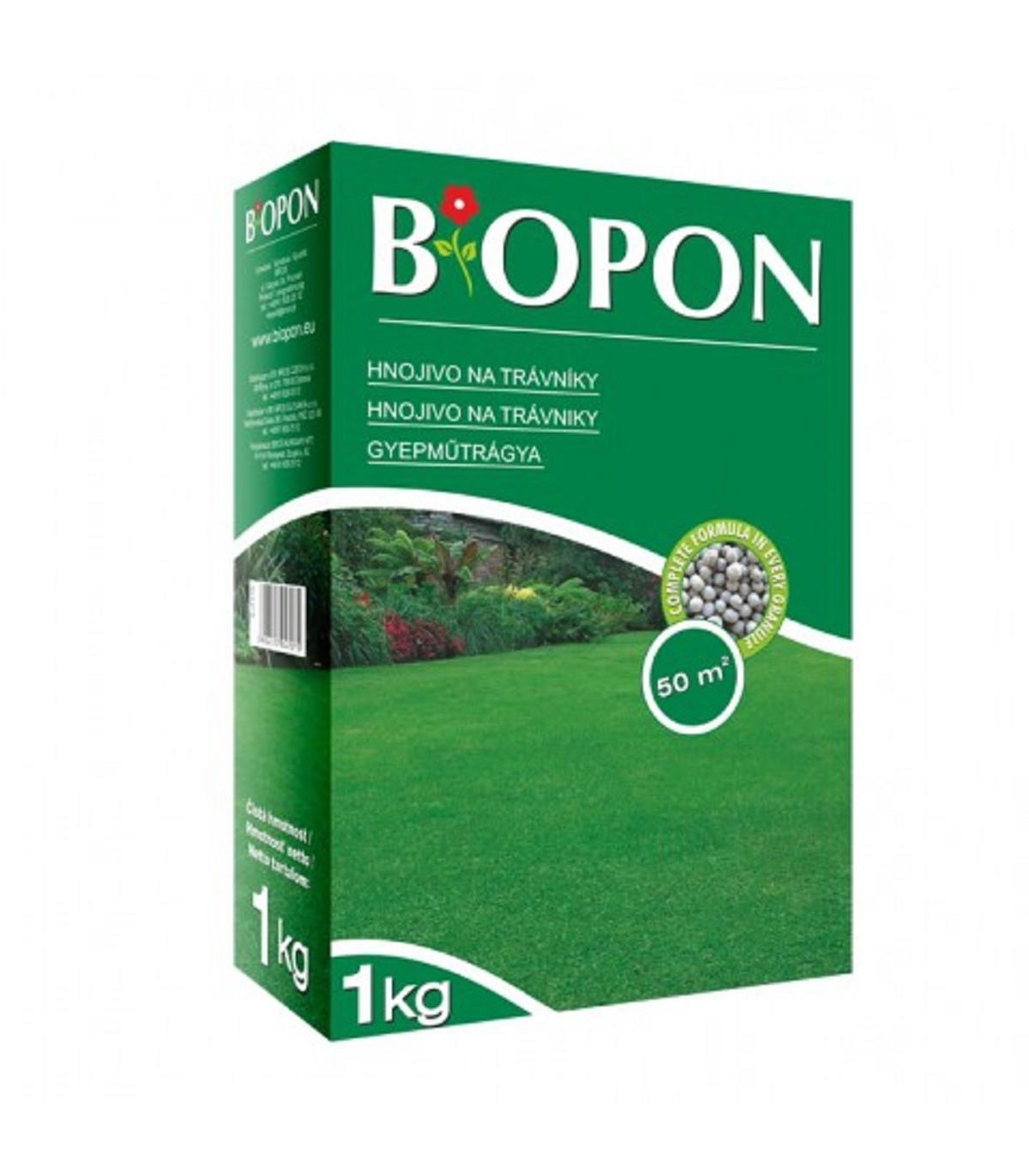 Hnojivo na trávniky - BioPon - 1 kg