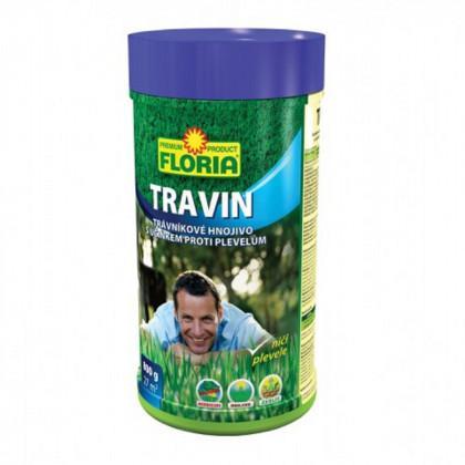 Hnojivo na trávniky s účinkom na burinu - Travin - 800g