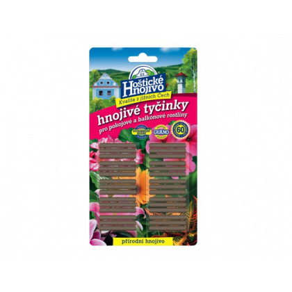 Tyčinkové hnojivo - Hoštické hnojivové tyčinky - 30ks