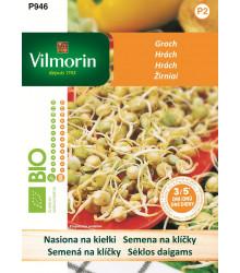 Bio semená na klíčky - Bio hrach - 40 g