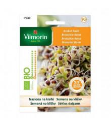 Bio semená na klíčky - Brokolica Raab - 10 g