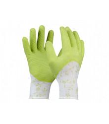 Pracovné rukavice Flower - PVC - Veľkosť 7 - 1 ks