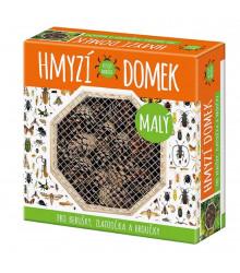 Hmyzí domček malý - domček pre lienky, zlato-očká a chrobáčikov - 1 ks