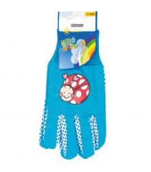 Pracovné rukavice detské Stocker - modré - 1 pár