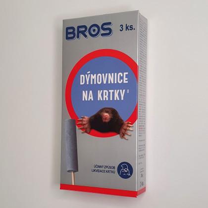 Dymovnica na krtkov - Bros - 3 Ks