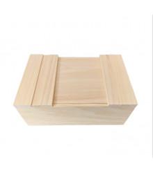 Drevená krabička - krabička na semienka - predaj pomôcok na pestovanie - 1 ks